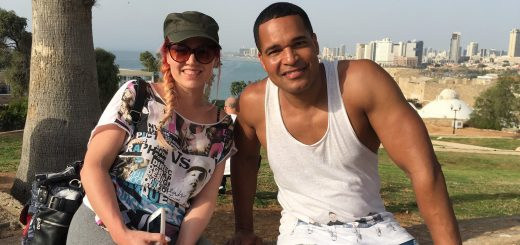 Valentina Monetta and Jimmie Wilson