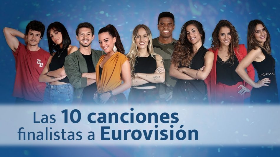 Listen in full to the 10 Spanish 'Eurovisión Gala' songs